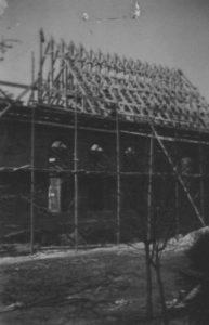 Kirche im Bau, 17. März 1953