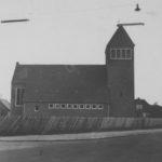 Kirche, Ansicht von Norden, nach 1956