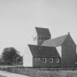 Kirche, Ansicht von Südosten, 1956, Foto: Ernst Witt, Hannover