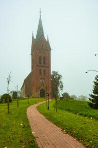 Kirche, Westansicht