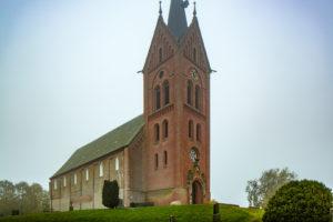 Kirche, Nordwestansicht