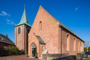 Kirche, Südwestansicht