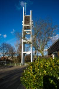 Turm. Südwestansicht