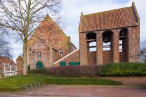 Kirche, Glockenhaus, Westansicht