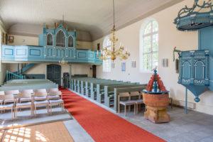 Kirche, Innenraum, Orgelempore