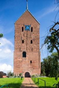 Turm, Westfassade