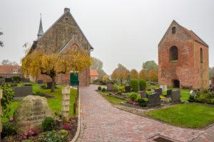 Kirche, Turm, Westansicht