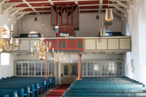 Innenraum, Orgel