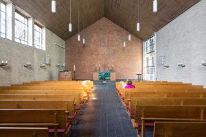 Kirche, Innenraum, Osten