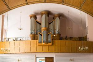 Kirche, innen, Orgel