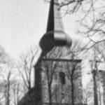 Kirche, Außenansicht, um 1948