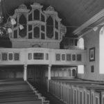 Kirche, Blick zur Orgel, um 1952