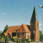 Kirche, Ansicht von Nordwesten, 1986