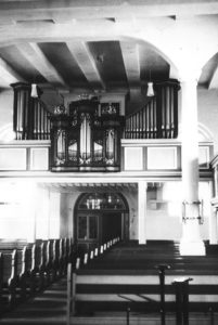 Kirche, Blick zur Orgel, nach 1955