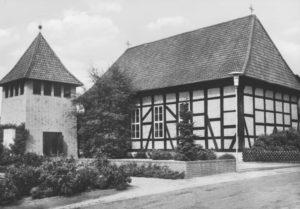 Kirche, Ansicht von Südosten, 1969