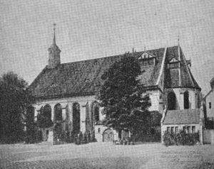 Kirche, Ansicht von Südosten, 1911