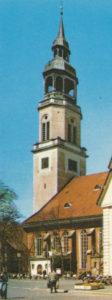 Kirche, Ansicht von Südosten, Teilansicht, nach 1913