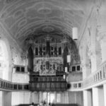 Kirche, Blick zur Orgel, 1978