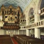 Kirche, Blick zur Orgel, nach 1968