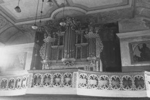 Orgel, vor 1958