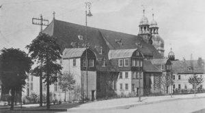 Kirche, Ansicht von Nordosten, 1912