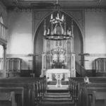 Kirche, Blick zum Altar, vor 1978