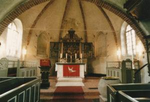 Kirche, Blick in den Chorraum