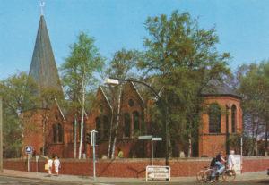 Kirche, Ansicht von Südosten, 1979
