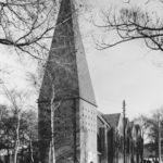 Kirche, Ansicht von Südwesten, 1969