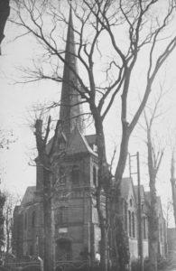 Kirche, Ansicht von Südwesten, vor 1944