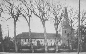 Kirche, Ansicht von Norden, 1927