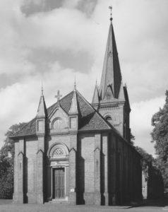 Kirche, Ansicht von Nordosten, um 1969
