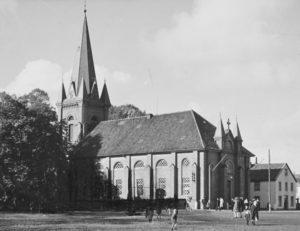 Kirche, Ansicht von Südosten, 1939