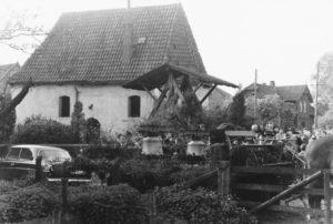 Kapelle, Ansicht von Südosten, 1962