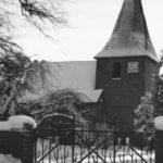 Kirche, Ansicht von Nordwesten