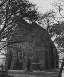 Kirche, Ansicht Nordosten, um 1960