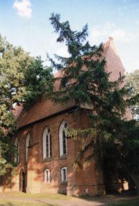 Kirche, Ansicht Nordwesten, 1993