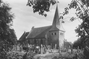 Kirche, Ansicht von Nordwesten, 1949