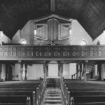 Kirche, Blick zur Orgel, 1952