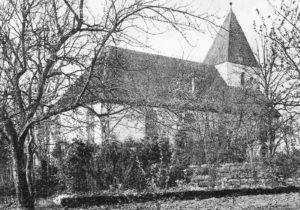 Kirche, Ansicht von Nordosten, 1910