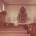 Kirche, Blick zum Altar, Foto: Ernst Witt, Hannover, September 1951