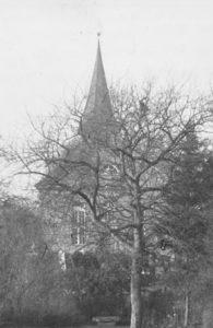 Kirche, Ansicht von Osten, 1960