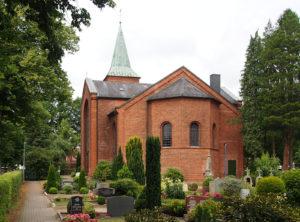 Oyten, Kirche, Osten