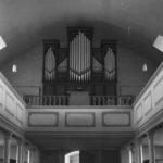 Kirche, Blick zur Orgel, nach 1954