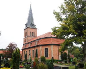 Schwarme, Kirche, Außenansicht