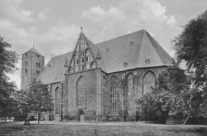 Kirche, Ansicht von Südosten, 1956