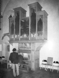 Orgel, nach 1976, vor 1993