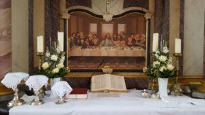 Drochtersen, Kirche, Altarbild