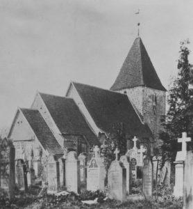 Kirche, Ansicht von Nordosten, 1949