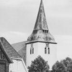Kirche, Ansicht von Nordwesten, Teilansicht